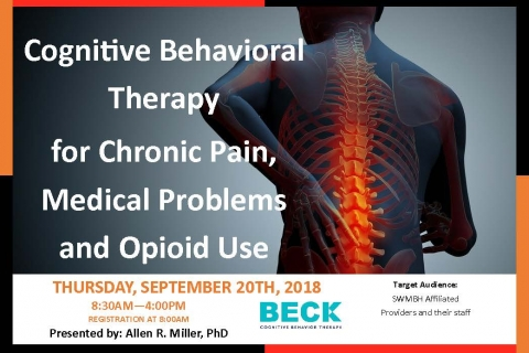 Cognitive Behavioral Therapy for Chronic Pain, Medical Problems, and Opioid Use