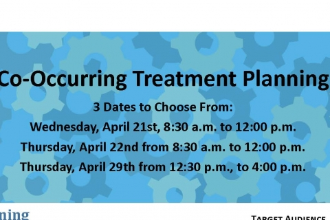 Co-Occurring Treatment Planning
