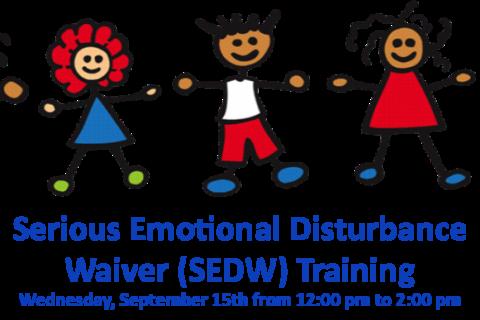 Serious Emotional Disturbance Waiver Training