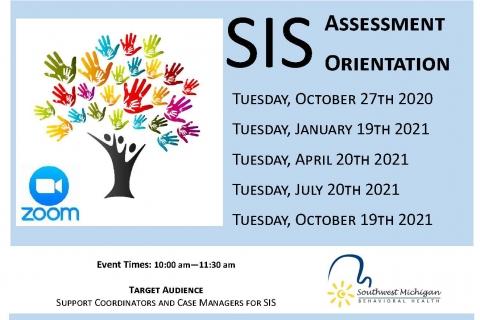 SIS Assessment Orientation