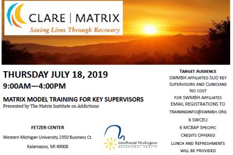 Matrix Model Training for Key Supervisors