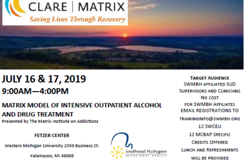 Matrix Model of Intensive Outpatient Alcohol & Drug Treatment
